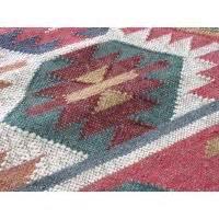 tapis kilim en laine et jute maduban by drawer With tapis kilim avec canapé convertible rotin la redoute