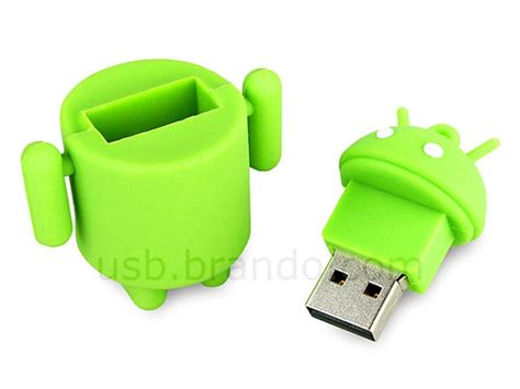 flash drive for android android droid styled usb flash drive gadgetsin