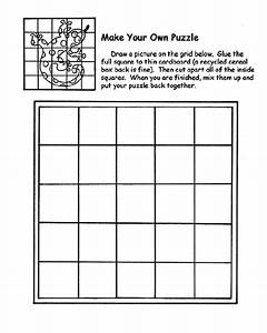 Make Your Own Puzzle Coloring Page