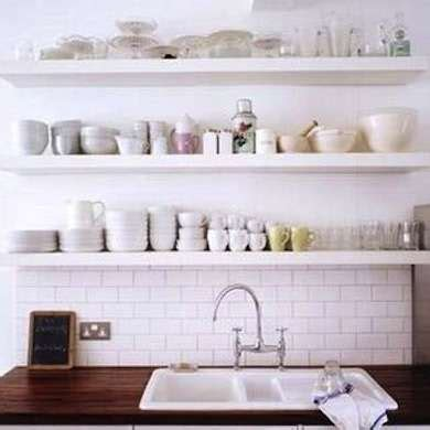 alternatives to kitchen cabinets 11 clever alternatives to kitchen cabinets