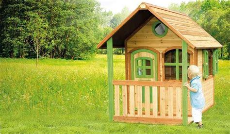 Spielhaus Holz Bei Meingartenversandde Kaufen