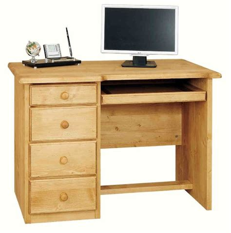 bureau en ch麩e massif meuble informatique bois massif maison design modanes com