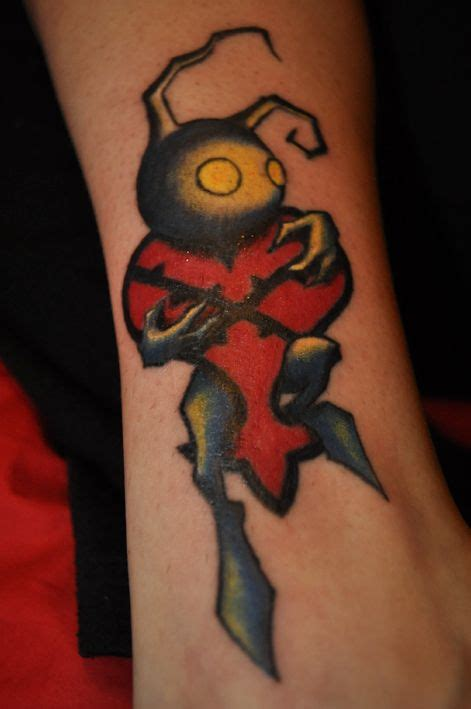 heartless tattoo   love  kingdom hearts tattoo