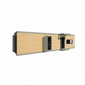 Maison Modulaire Bois : maison modulaire ossature bois acier metallique ~ Melissatoandfro.com Idées de Décoration