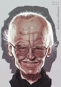 Stan Lee :: sketch by ElectroNic0 on DeviantArt