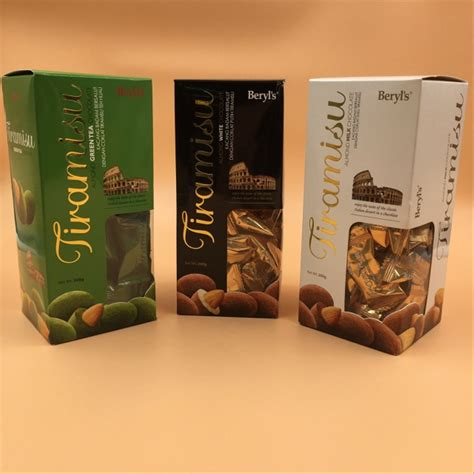 jual coklat beryls tiramisu almond milk white gram
