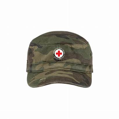 Hat Military Field Distressed Hats Caps Cross