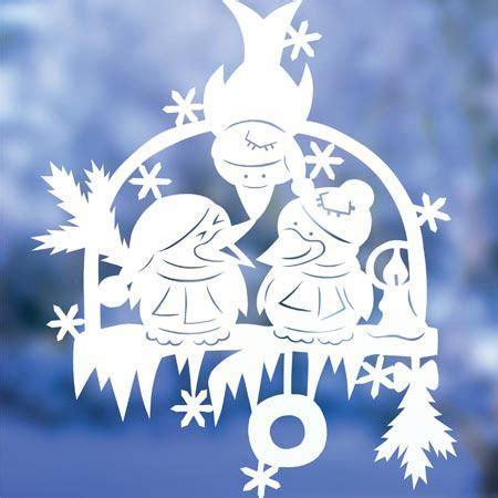 Fensterdeko Weihnachten Vorlagen by Bastelideen Fensterbilder Zu Weihnachten