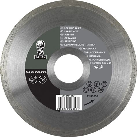 ceramic tile cutting disc 180 x 25 4mm toolstation