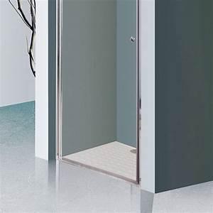 porte de douche 6mm dylane 80cm unesalledebain With porte de douche coulissante avec vasque salle de bain 50 cm largeur
