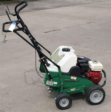 lawn  sod gas powered aerator rental iowa city cr