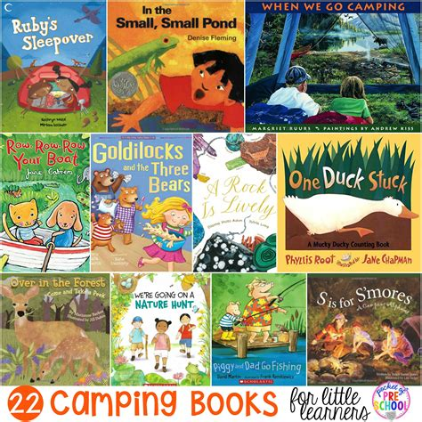 camping books for learners pocket of preschool 828   Camping Books Cover Edited