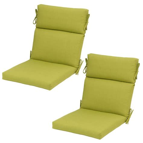 home styles green apple outdoor chair cushion 5500 cus