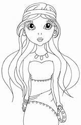 Gypsy Coloring Pages Lady Mirabel Cuties Cuddlebug Sweetheart Template sketch template