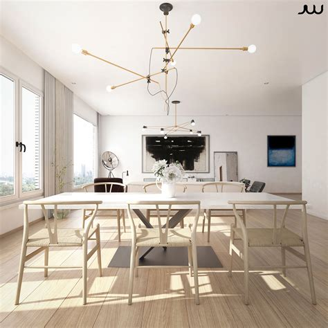 central park view new york apartment cgi on behance