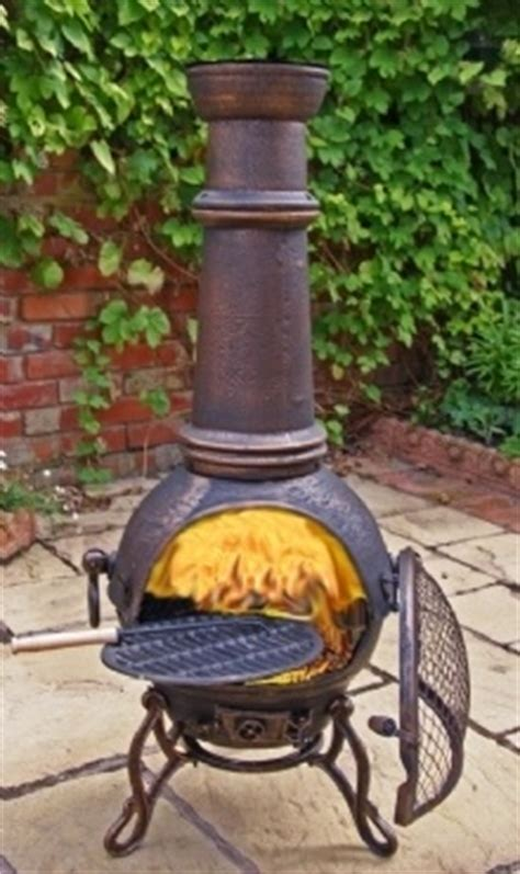 chiminea diy irons summer months and bronze on