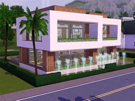 Sims 3 Herunterladens Modernes Haus Zum Nachbauen Anneyjan