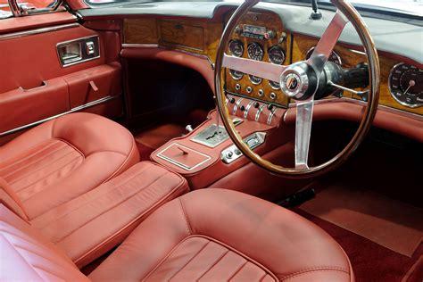 Facel Vega Hk500 Red Interior Car Wood Dashboard Dash