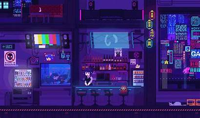 Bg Lounge Idols Galaxxy Pixel Cyberpunk Mobile
