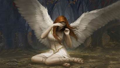 Magic Gathering Angel Fallen Abyss