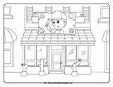 Manny Handy Coloring Disney Sheets Repair sketch template
