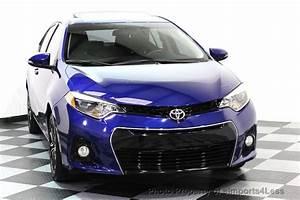 2015 Used Toyota Corolla Certified Corolla S Plus Sedan