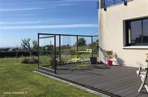 Pare Vent Terrasse Plexiglas : brise vent plexiglas pour terrasse brise vent pour terrasse et balcon 20 id es et conseils ~ Melissatoandfro.com Idées de Décoration