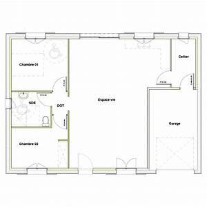 plan maison plain pied 120m2 3 chambres hz12 jornalagora With plan maison plain pied 120m2