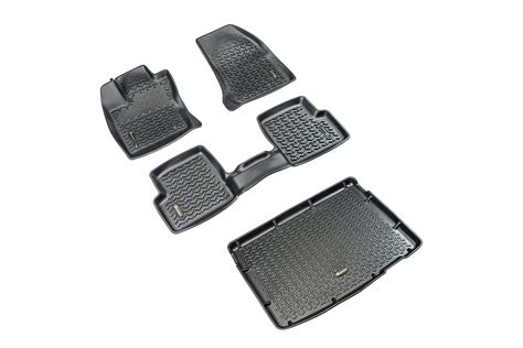Quadratec All Weather Floor Mats by Quadratec 174 Ultimate All Weather Floor Liner Combo
