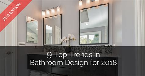high end kitchen cabinets 9 top trends in bathroom design for 2018 home remodeling