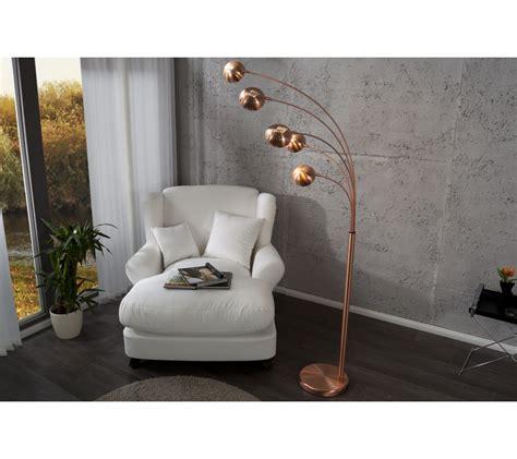 dizajnova jedinecna stojaca lampa  lights medena