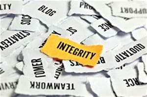 Preserving Integrity - Career Development From MindTools.com