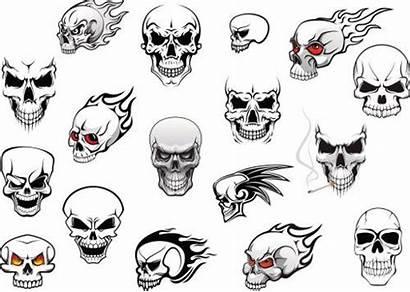 Skull Evil Skulls Drawings Horror Halloween Drawing
