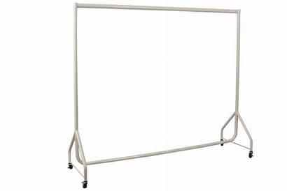 Rack Rail Bar Castors Oval Single Nz