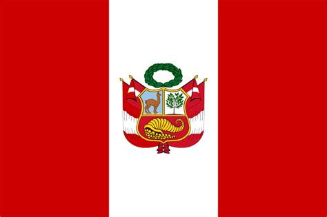peruvian national state war flag limaeasy