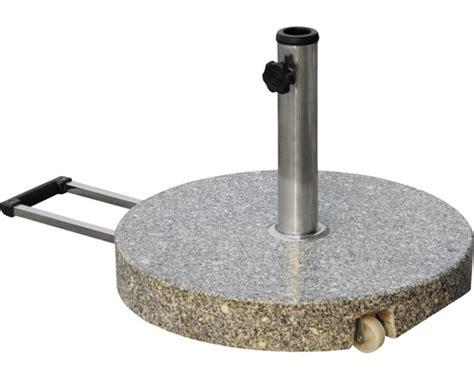 schirmstaender granit ocm jetzt kaufen bei hornbach