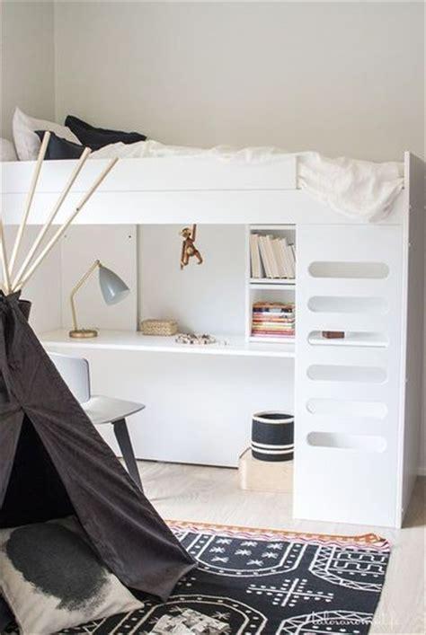 chambre fille petit espace un lit bureau agrandit cette chambre ado