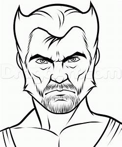 How To Draw Wolverine Easy Step By Step Marvel