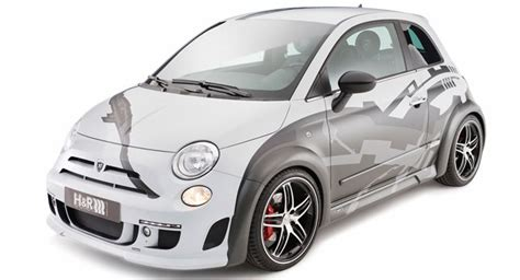 Fiat 500 Abarth Tune by Hamann And H R Jointly Tune The Fiat 500 Abarth With 275hp