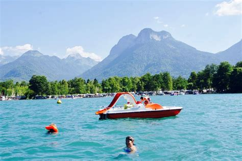 Boat Service Lake Annecy by Boat And Pedalo Rental On Lake Annecy Ponton D 233 Ronzier