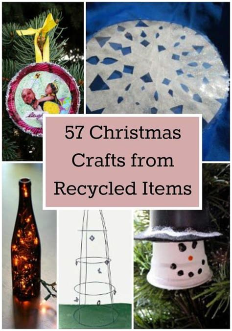 images  recycled repurposed christmas
