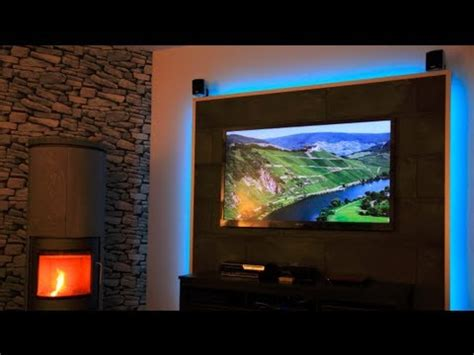 design lowboards build a tv led wall