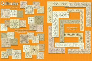 Quiltmaker U2019s Quilting Designs Volume 6