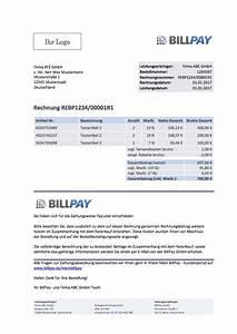 Rechnung Directpay : billpay techdocs ~ Themetempest.com Abrechnung
