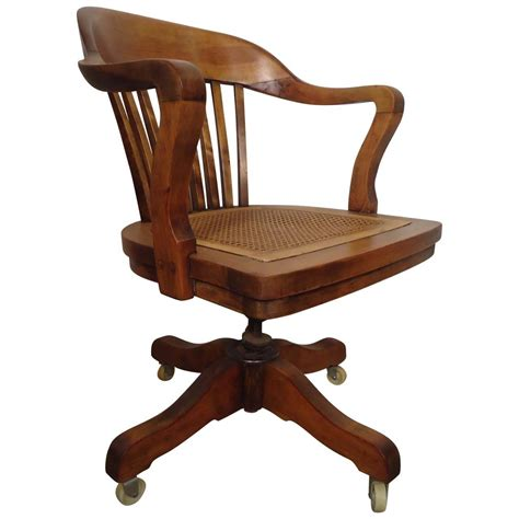 antique swivel desk chair restored vintage swivel desk chair by page for sale at 1stdibs
