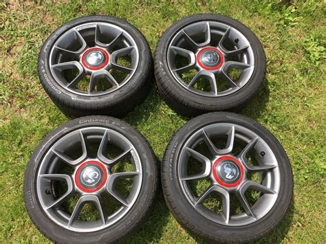 Fiat Abarth Wheels by Stock 16 Quot Abarth Wheels