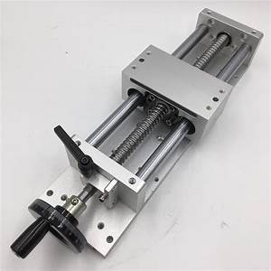 Linear Guide Manual Sliding Table Effective Stroke L700mm