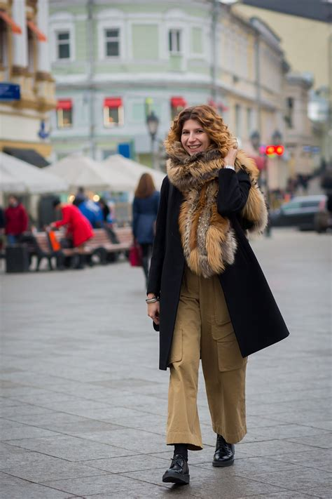 russia fashion week spring  street style vogue