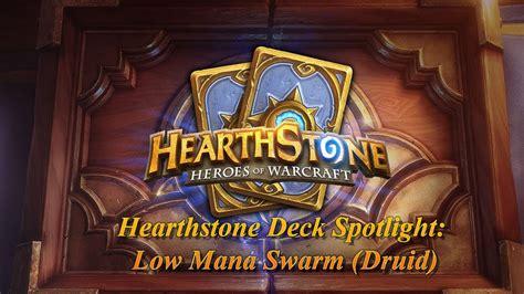 Hearthstone Deck Spotlight Low Mana Swarm (druid) Youtube