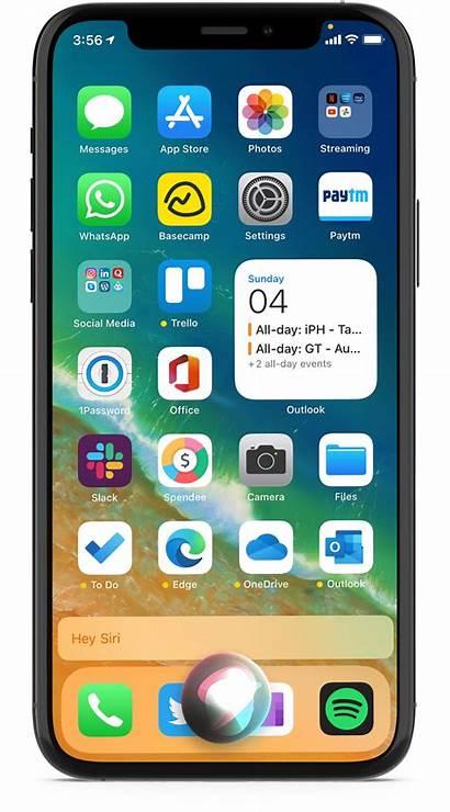 Screenshot Iphone Take Siri App Open Mini